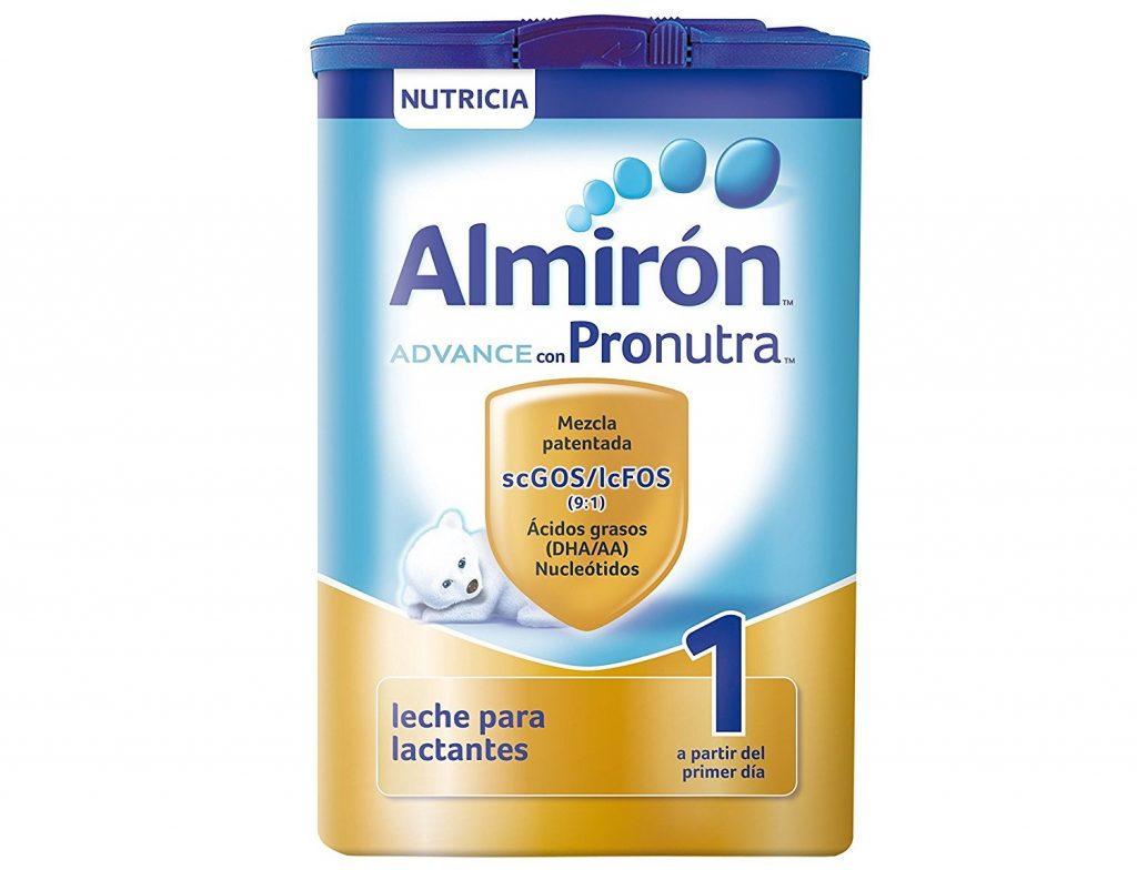 Almirón Advance con Pronutra 1 es nuestra leche infantil en polvo adecuada para la alimentación del lactante sano desde el primer día. Contiene Pronutra, una combinación de nutrientes única y equilibrada, una mezcla patentada de Fibras scGOS/lcFOS (9:1), Ácidos grasos DHA/AA (Omega 3/ Omega 6) y Nucleótidos.Formato de 1200gr, contiene 3 bolsas de 400g y un cacito.